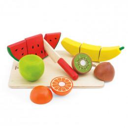 Fruit en bois à découper - à partir de 3 ans