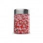 Boîte repas lunch box isotherme inox - Flowers rouge - 650ml