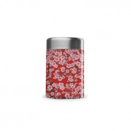 Travel soupe isotherme inox - Flowers rouge - 340ml