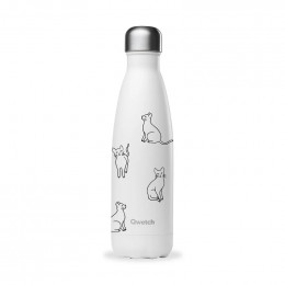 Bouteille isotherme - Pretty cats - 500ml
