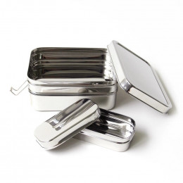 Lunch box - Three in One Giant - Inox