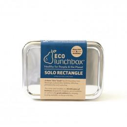 Lunch box - Solo Rectangle - Inox