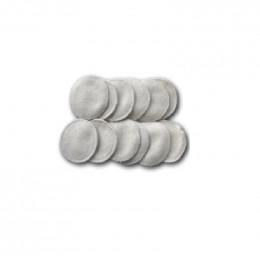 12 lingettes démaquillantes lavables - Chanvre et coton Bio