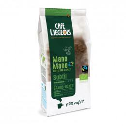Café Bio et Fairtrade Mano Mano - Subtil grains - 250 g