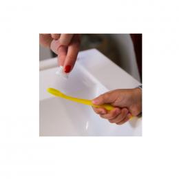 Brosse à dent à tête rechargeable pour enfant - Soft - Jaune