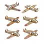 6 avions en carton à fabriquer - à partir de 6 ans