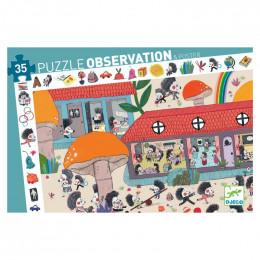 Puzzle observation - L'école des hérissons