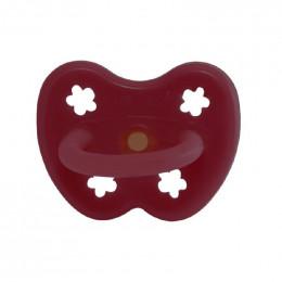 Tétine orthodontique en caoutchouc - Fleurs - 3 -36 mois - Ruby