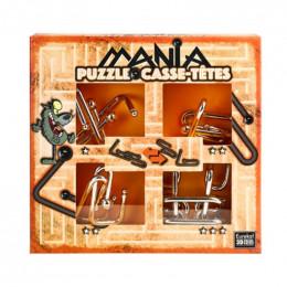 4 casse-têtes métal Mania - Orange - à partir de 7 ans
