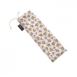 Mini trousse - 8 x 23 cm - Fleurs d'automne
