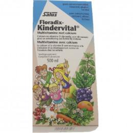 Floradix Kindervital - Multivitamine avec calcium - 500 ml