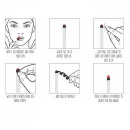 Rouge à lèvres hydratant glossy nude - Le papier - 6 g - Corail