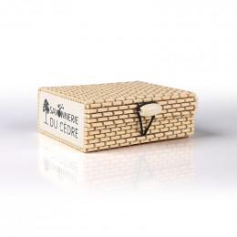 Boîte à savon en bambou - Naturel clair