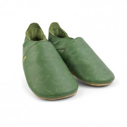 Chaussons - 11536 - Dino olive