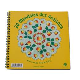 Cahier à Colorier - Mandalas des 4 Saisons  - Pour Petits et Grands - à partir de 5 ans