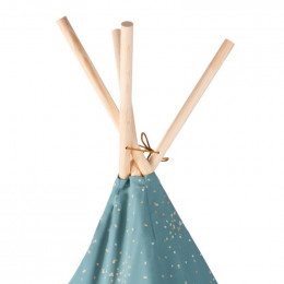Tipi Phoenix - Gold confetti & Magic green