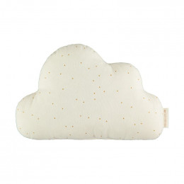 Coussin Nuage - Honey sweet dots natural
