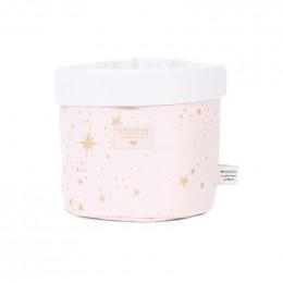 Panier Panda - Gold stella & dream pink - medium