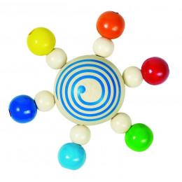 Hochet Toupie de Perles - Dès la naissance