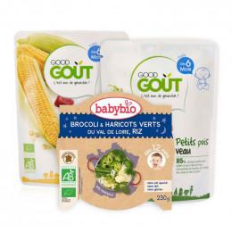 Trio dégustation bébé - à partir de 6 mois