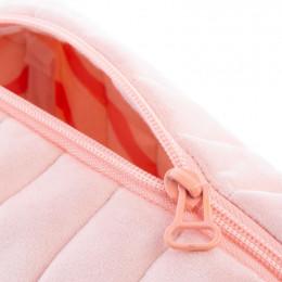 Trousse de toilette Savanna velvet - Bloom pink