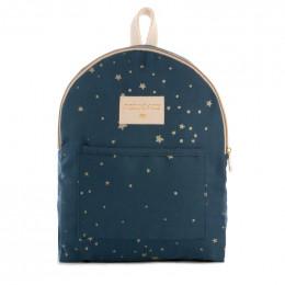 Sac à dos Too cool mini - Gold stella & Night blue