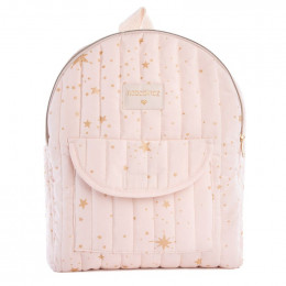 Sac à dos enfant Too cool - Gold stella & Dream pink