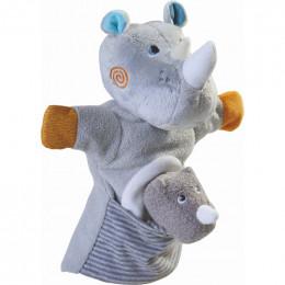 Marionnette Rhinocéros et son bébé