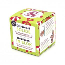 Déodorant solide - Bergamote et géranium - 30 ml