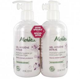 Gel hygiène intime Bio  - Offre Duo - 2 x 225 ml