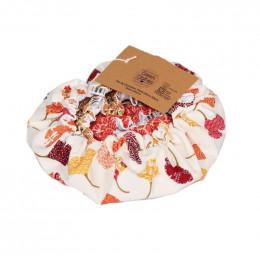 Trio de charlottes pour pots et plats alimentaires - Orange - 10,20 et 30 cm