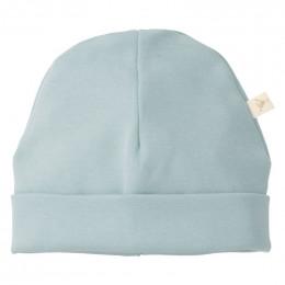 Bonnet bébé uni blue fog