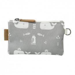 Porte-monnaie - Whale dawn grey