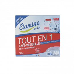 Tablettes lave-vaisselle All-in-1 - 60 pièces