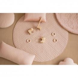 Tapis de jeu rond Kiowa - Bloom pink - small