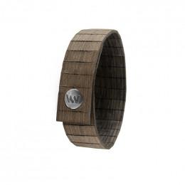 Bracelet en bois Aura Choco Black Gun