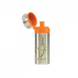 Gourde en inox - 350 ml - Bambou