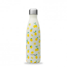Gourde bouteille nomade isotherme - 500 ml - Citrons