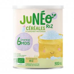 Céréales à complément protéinique sans lactose - Riz - à partir de 6 mois - 900g