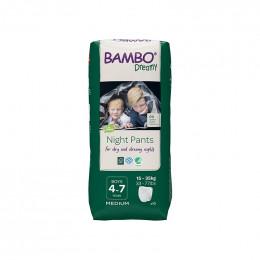 10 culottes de nuit Bambo Dreamy - 15 à 35 kg - Boys