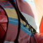 Fouta Ebène en coton Bio - Redblue - 100 x 200 cm
