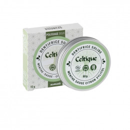 Dentifrice solide - Polissage doux - 50 g