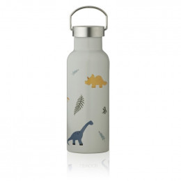 Gourde isotherme Neo - Dino dove blue mix - 500 ml