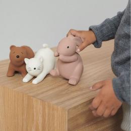Set de 3 jouets de bain David - Rose multi mix