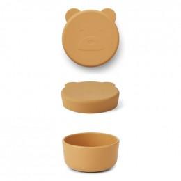Boîte à collations Carrie - Mr bear yellow mellow