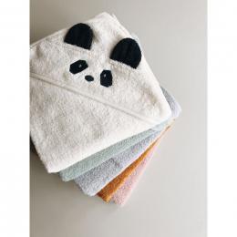 Cape de bain Albert - Panda crème de la crème