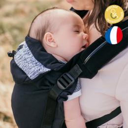 Porte bébé physiologique préformé - Néo V2 - Ebène