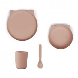 Set de repas Paul - Cat rose blush