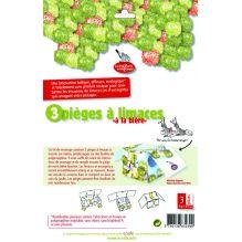 """Kit 3 pièges à limaces """" à la bière """""""