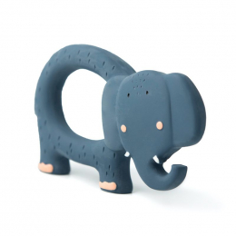 Jouet de préhension en caoutchouc naturel - Mrs. elephant